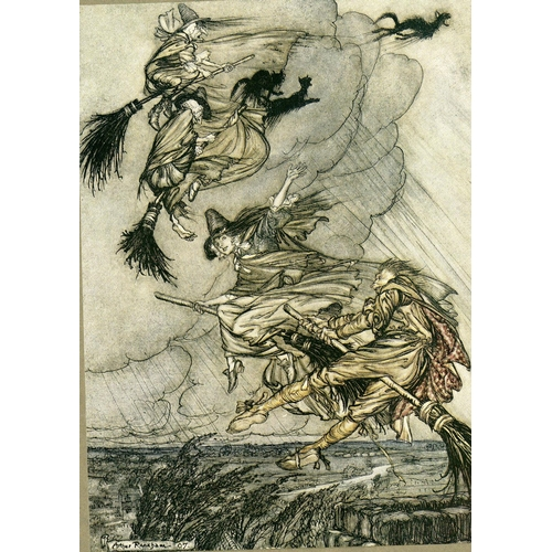 47 - Illustrated Volume: Ingoldsby (Thamas), Rackham (Arthur)illus., The Ingoldsby Legends or Mirth and M...
