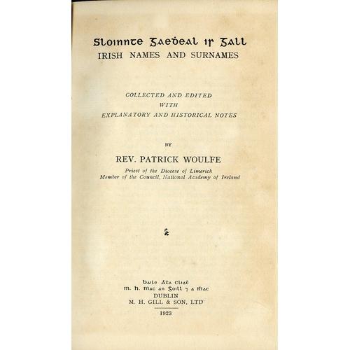 9 - Gratton Flood (W.H.) A History of Irish Music, D. 1913. Signed Pres. Copy to V. Rev. Fr. F. Carolan,...