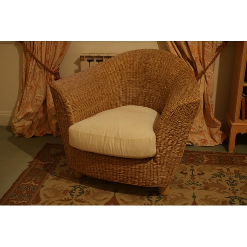 11 - <strong>An attractive 8 piece </strong><strong>cane work</strong><strong>Conservatory Suite,</stron...