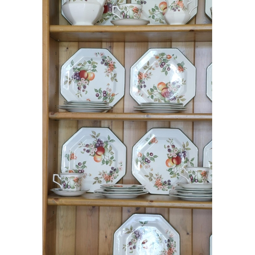 7 - <strong>An attractive large Tea & Coffee Service,</strong> by Johnson Bros., comprising approx. ...