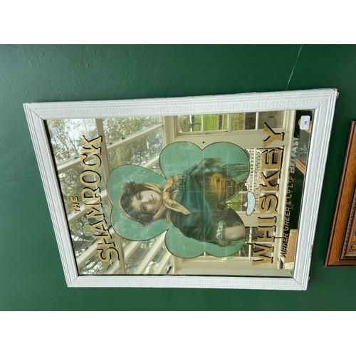 16 - <strong>A rare and original Advertising Mirror,