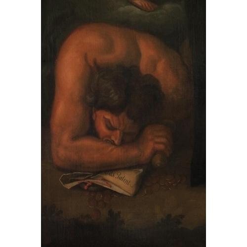 420 - Francis Bindon (1690 – 1765)Portrait of Jonathan Swift, 1735, oil on canvas, 87 1/2