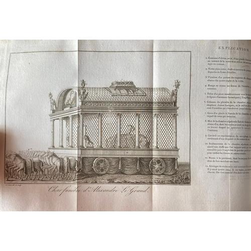 18 - Saint-Croix (M.)Examen Critique des Anvciens Historiens D'Alexandre - Le - Grand, thick lg. 4to Par...