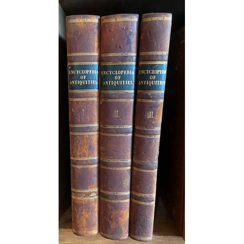 19 - Fosbroke (Rev. T. Dudley)Encyclopaedia of Antiquities, and Elements of Archaeology, 2 vols. 4to L. ...