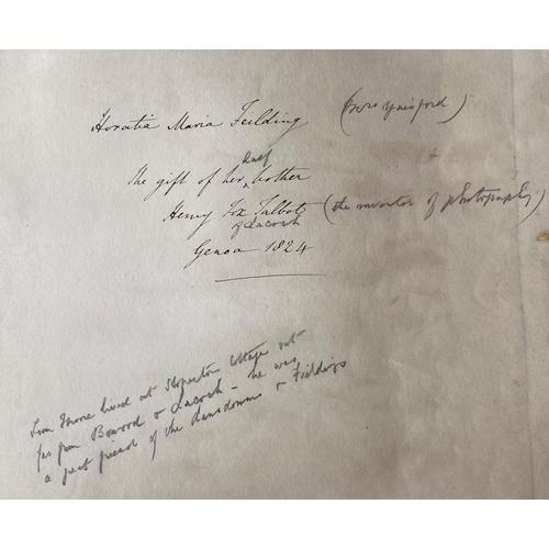 25 - Association Copy[Henry Fox Talbot] Moore (Thomas) & Stevenson (Sir John)A Selection of Irish M...