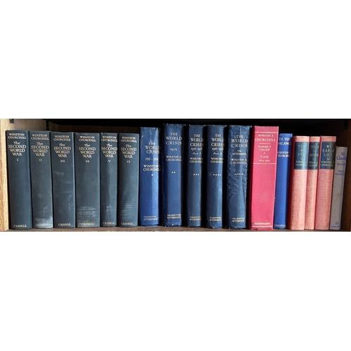 36 - Churchill (Winston S.)The Second World War, 6 vols. L. (Cassell & Co.) 1948, 1949, 1950, 1951, ...