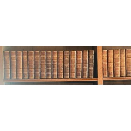 40 - Leather Bindings: Garnett (Dr. R.)ed.The International Library of Famous Literature, 20 vols. imp....