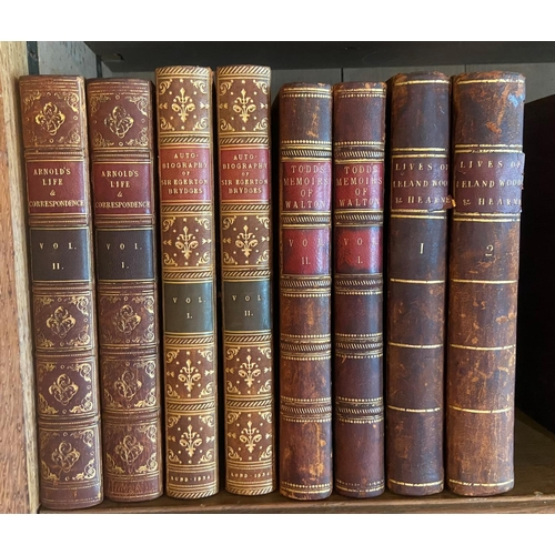 44 - Brydges (Sir Egerton)TheAutobiography, Times, Opinions and Contemporaries of ..., 2 vols. L. 1834....