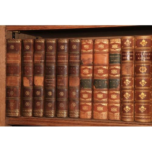 444 - Greek Literature: Schweighaevser (Johannes)Epicteri Dissertationum Ab Arriano Digestarum...