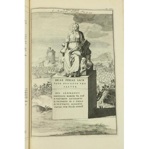 449 - Gruteriis (Janiis)Inscriptiones Antiquae Totius Orbis Romani, 2 vols. in four, folio Amsterdam (Fan...