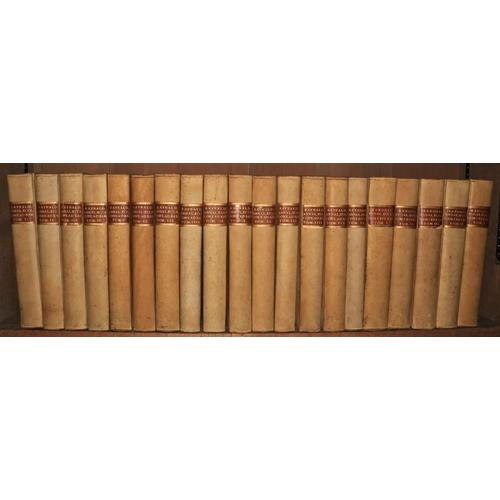 451 - Baron (Caesar)Annales Ecclesiastici, 19 vols. folio Lucae (Leonard Venturini) 1738 - 1746; alsoAnn...