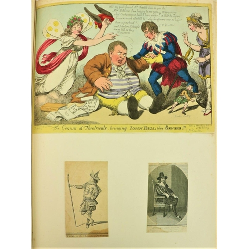 659 - Album of Antique Engraved Portraits. A large Atlas folio Album containing over 125 engd. & lit...