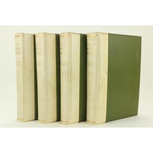 765 - Sloane (Wm. Milligan)Life of Napoleon Bonaparte, 4 vols., folio New York (The Century Co.) 1906. Po...