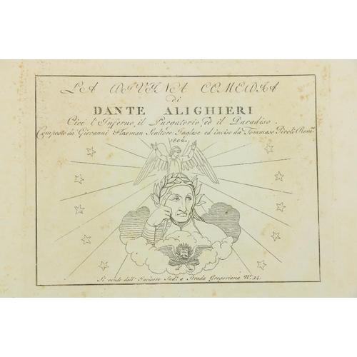 891 - Flaxman IllustrationsDante -La Divina Comeodia di Dante Alighieri cioe l'Inferno, ...