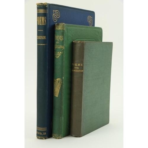 675 - Irish Poetry: Ferguson (Sir Sam.)Poems, Lg. 8vo D. & L. 1880.First Edn., device on title, orig...