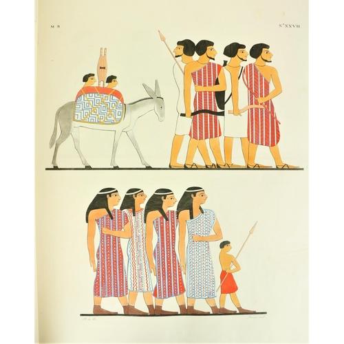 674 - Exceptionally Fine Copy with Double Set of PlatesRosellini (Ippolito)I Monumenti dell Egitto e Dell...