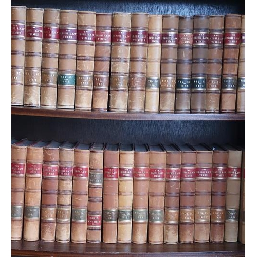 2 - The Irish Law Times, Dublin 1914, 40 Vols....