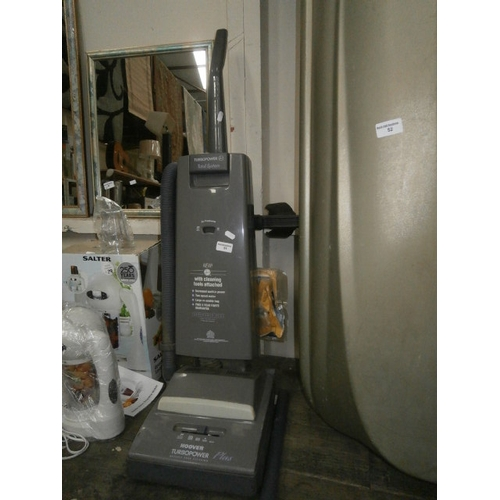 51 - Hoover turbo power vacuum...