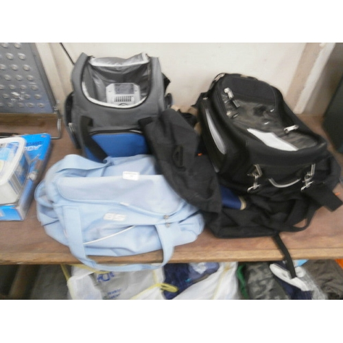 31 - Collection of travel bags...