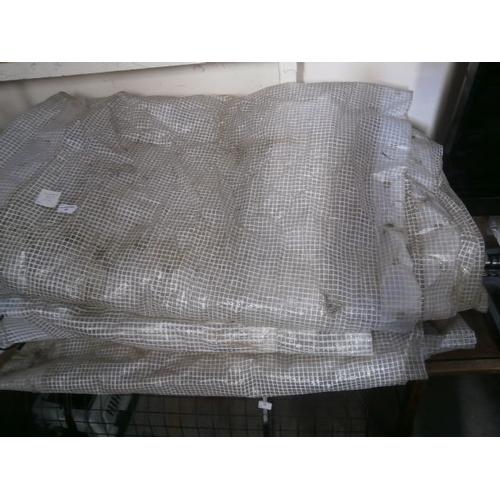 49 - Three Reinforced plastic sheets, 27 x 6, 20 x 6, 17 x 6...