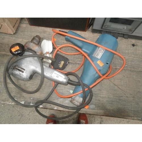 53 - Heat gun and power drill...