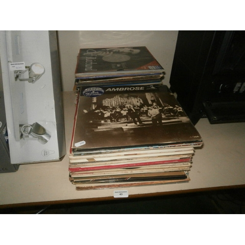 43 - Collection of vinyl records...