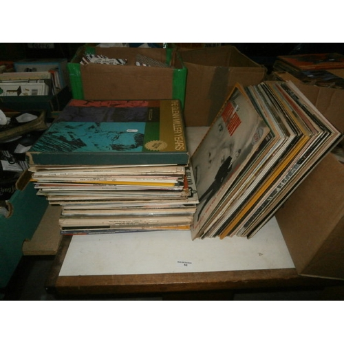 56 - Collection of vinyl records...