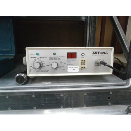 16 - EST301A Ultrasonic unit...