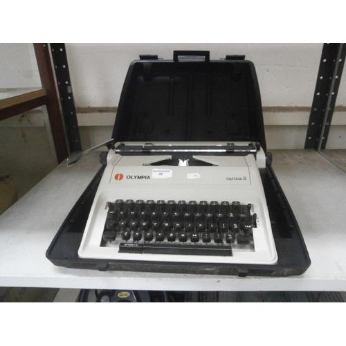 30 - Olympia typewriter...