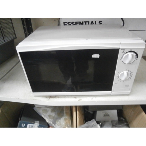 36 - Essentials 700w Microwave, as new with box...
