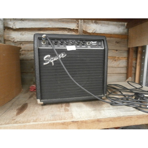 4 - Squire amplifier...