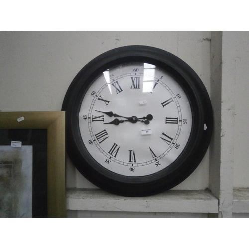 41 - Large modern clock...