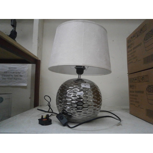 35 - Modern table lamp...