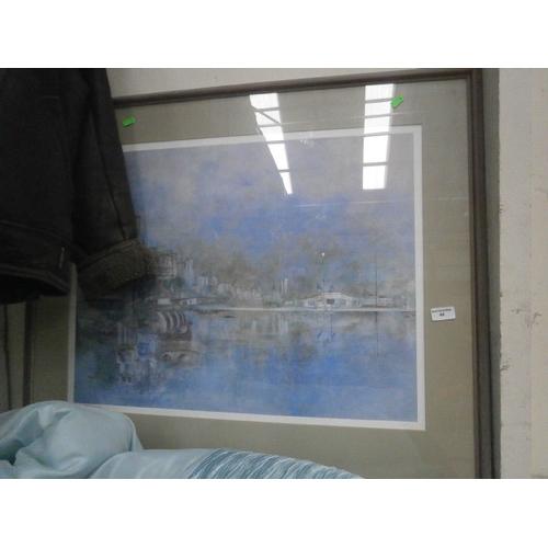 49 - Decorative framed print signed Whipp...