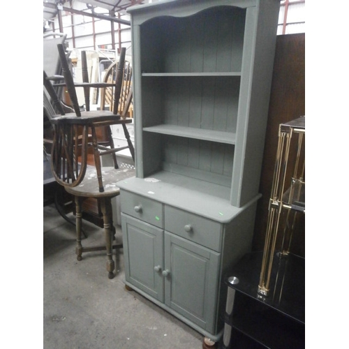 Small Painted Kitchen Dresser