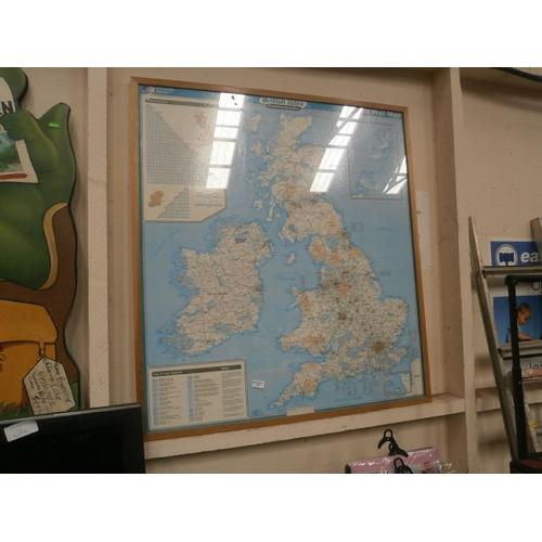 57 - Large map of British Isles...