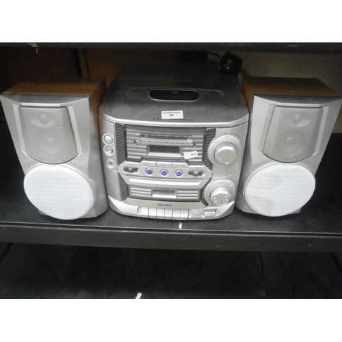 29 - Bush stereo system...