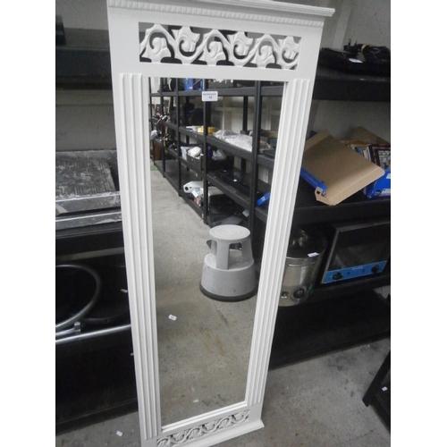 42 - Decorative tall mirror...