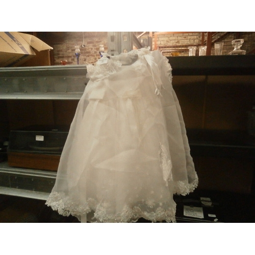 13 - Babies Christening dress...