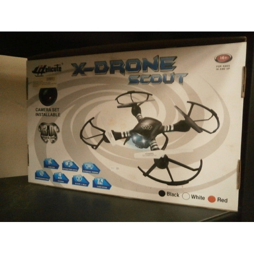 29 - X-Drone scout in box...