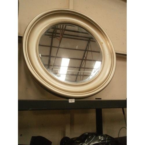58 - Large decorative circular mirror...