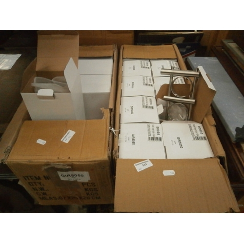 131 - Two boxes of Double tumbler holders, 10 per box...