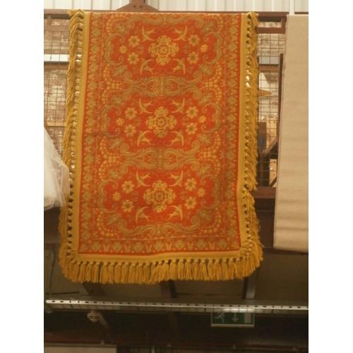 201 - Decorative patterned rug...