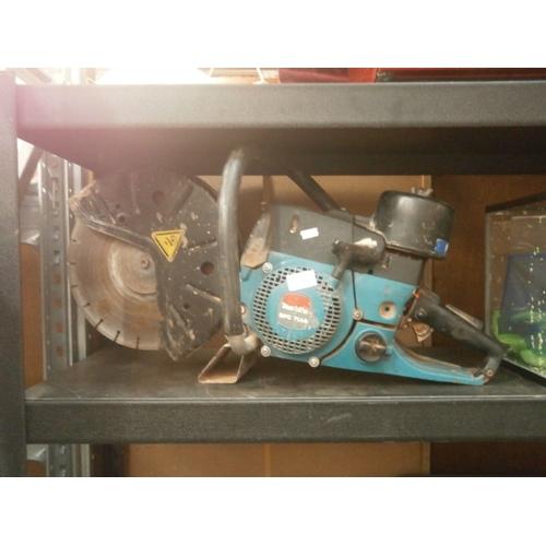 21 - Makita DPC 7000 saw, as found...
