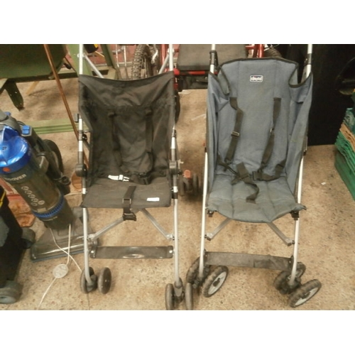 229 - Two child's buggies...