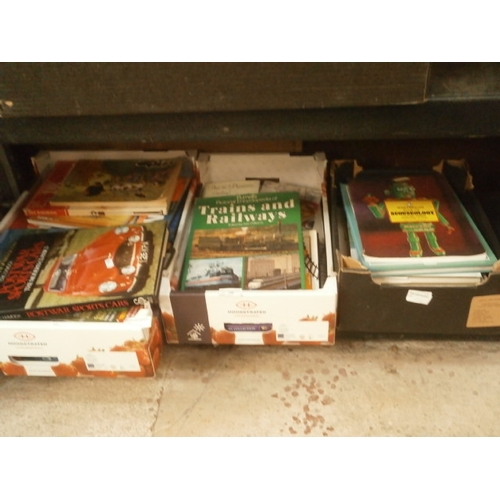 26 - Three boxes of various books...