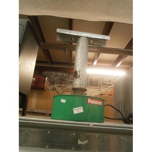 3 - Parasene greenhouse heater...