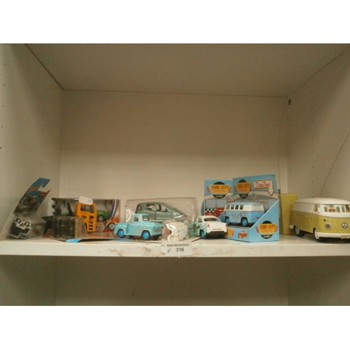 316 - Collection of die-cast vehicles...