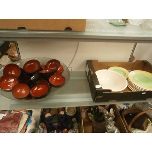 431 - Collection of Quadrifoglio tableware...