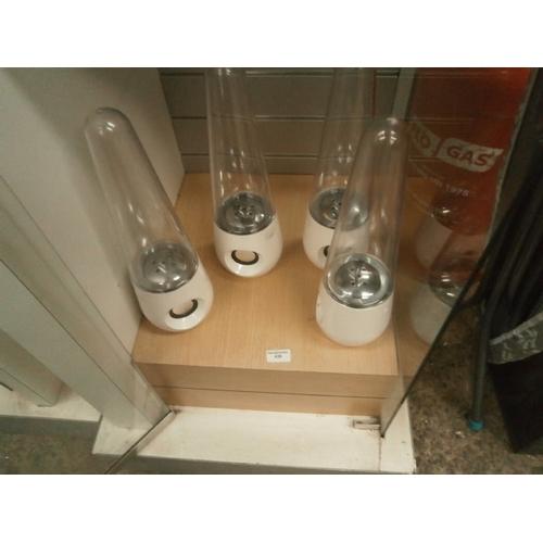 438 - Five water effect speakers...